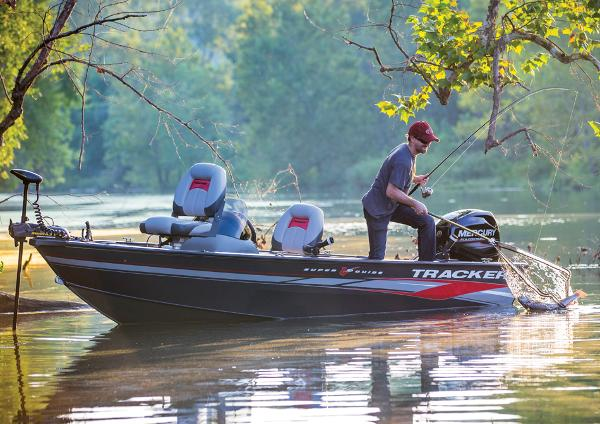2014 TRACKER BOATS SUPER GUIDE V 16 SC for sale
