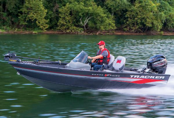 2014 Tracker Boats boat for sale, model of the boat is Super Guide V-16 SC & Image # 4 of 26