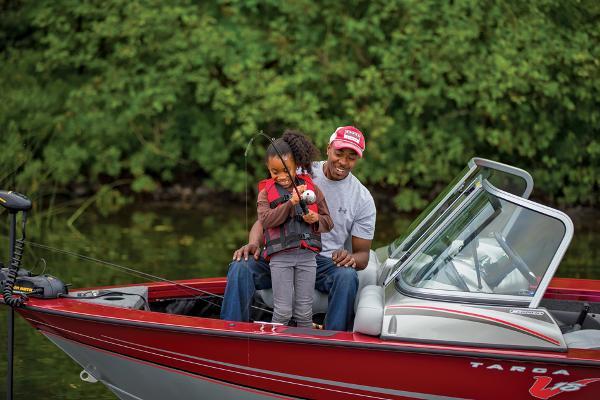 2014 Tracker Boats boat for sale, model of the boat is Targa V-18 Combo & Image # 6 of 38