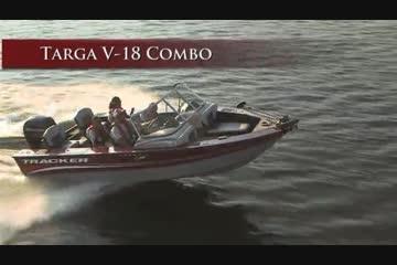 Tracker Targa V-18 Combo video