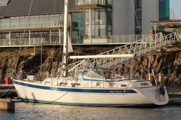 Boat Name: LADY LAMONT; Year: 2005; Builder: Hallberg-Rassy; Model: 37 ...
