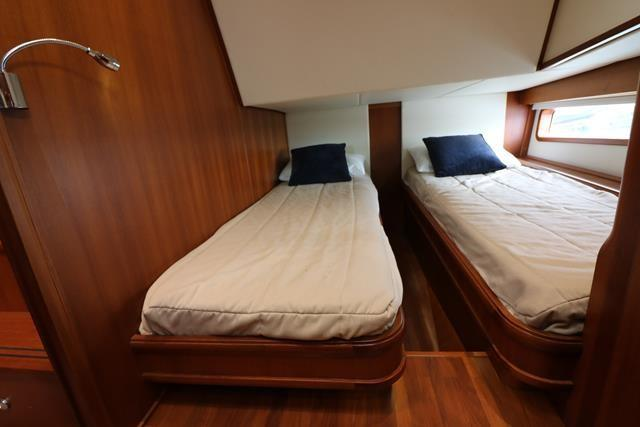 Twin Berth convertable to Double