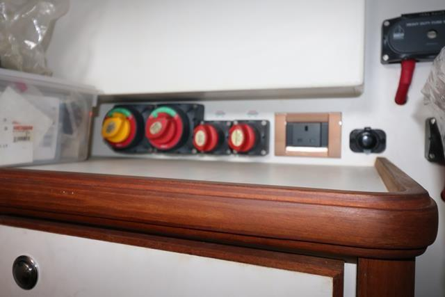 Control Switch in Technical Room