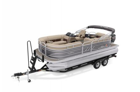 2020 Sun Tracker boat for sale, model of the boat is Party Barge 20 DLX & Image # 1 of 39