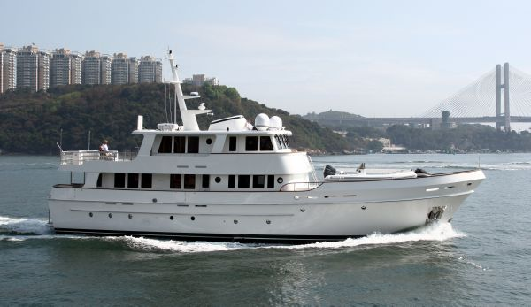 2017 Cheoy Lee Expedition Series Motor Yacht