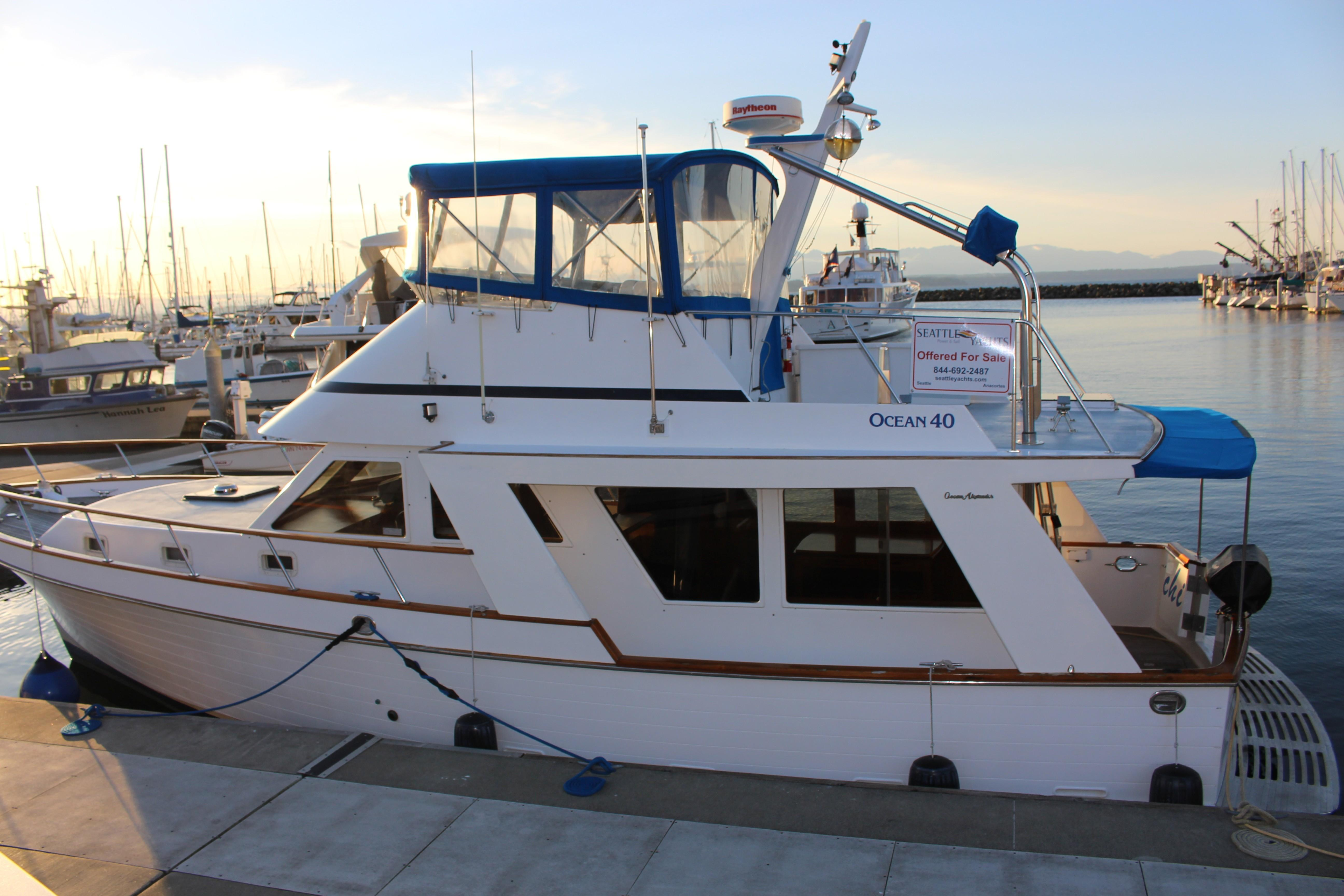 Picture Of:  40' Ocean Alexander 40 Europa 1983Yacht For Sale   15
