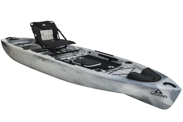 2019 ASCEND 128T YAK POWER SIT ON (WHITE/BLACK) for sale