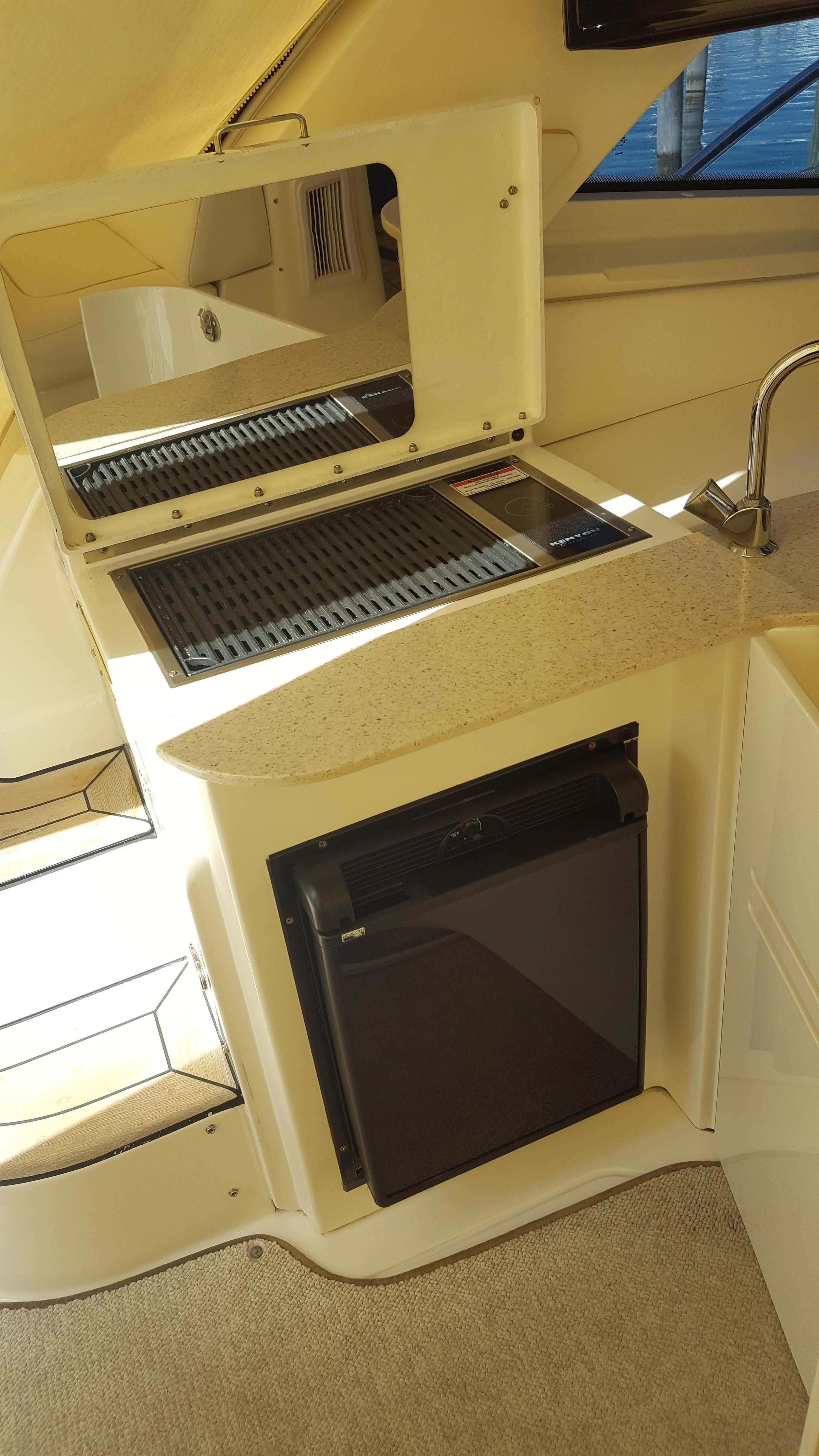 Cockpit Wet-Bar, Barbeque, Refrigerator
