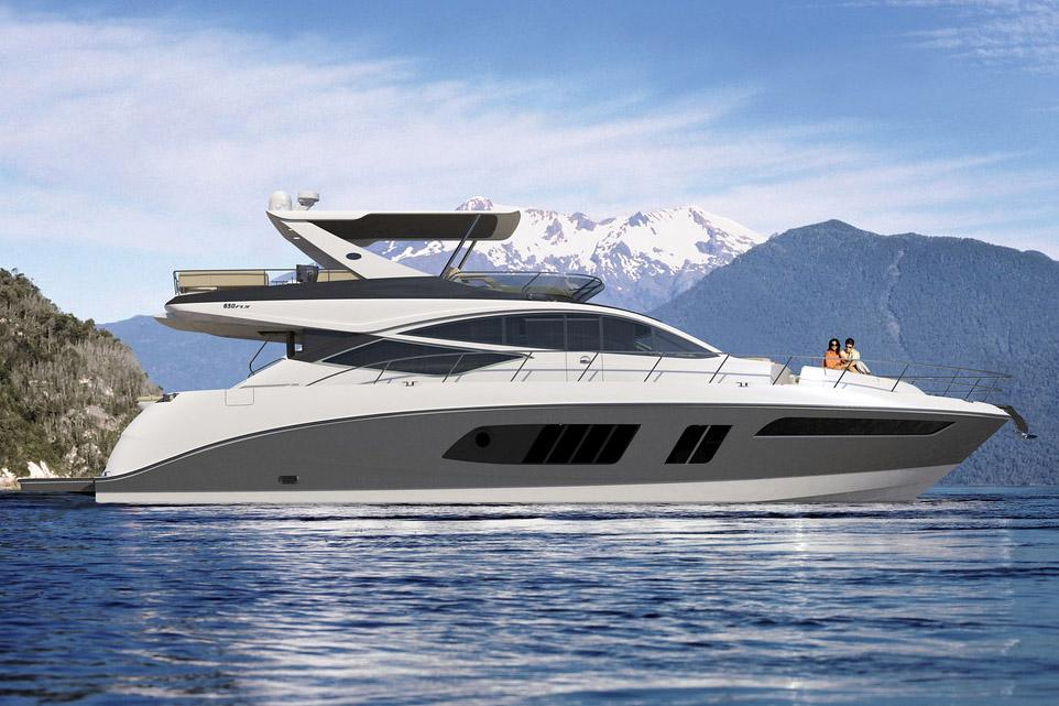 65 sea ray 2015 flawless for sale in afton oklahoma us for Sea ray motor yacht for sale