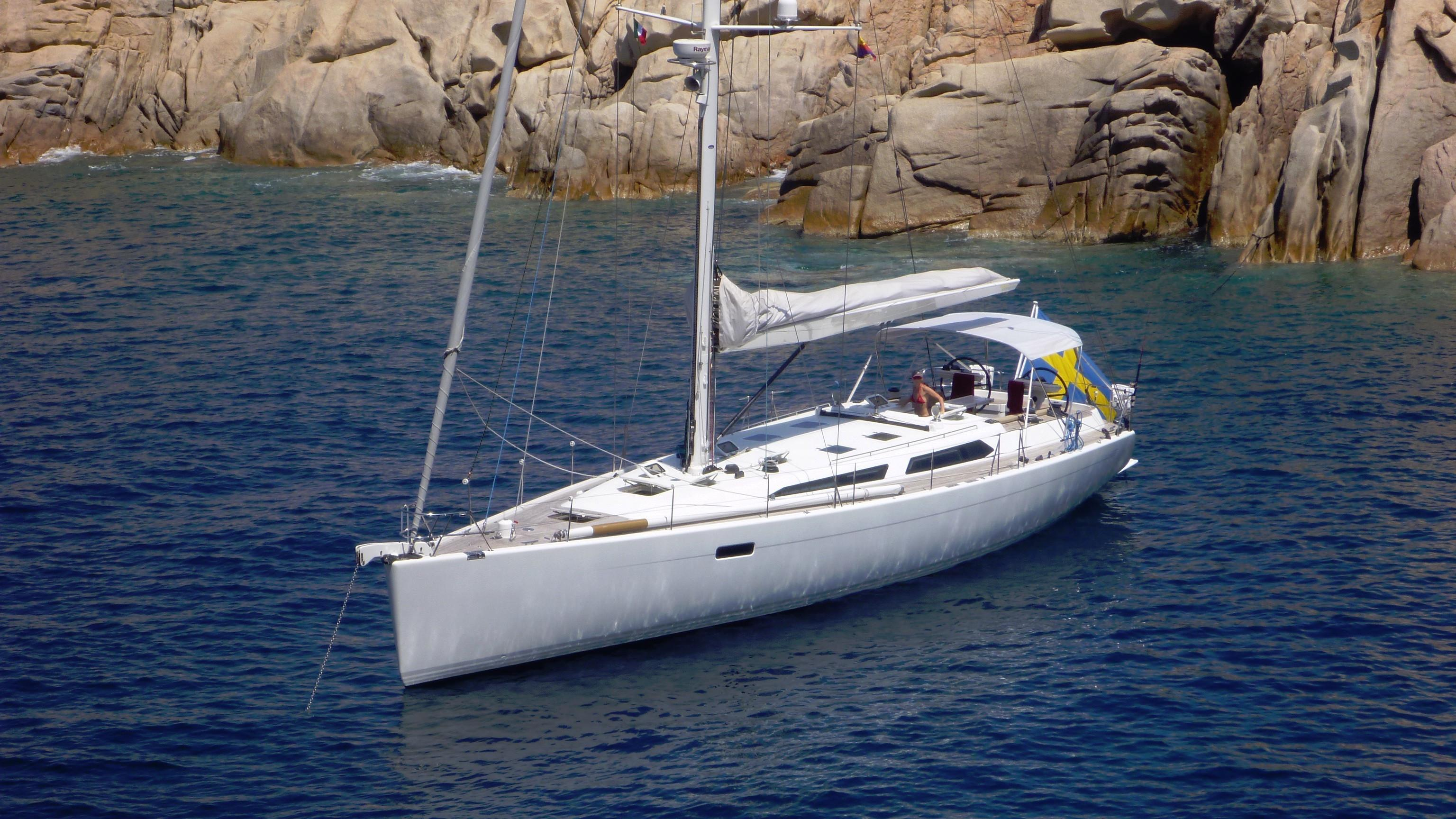 Baltic 56 lifting keel