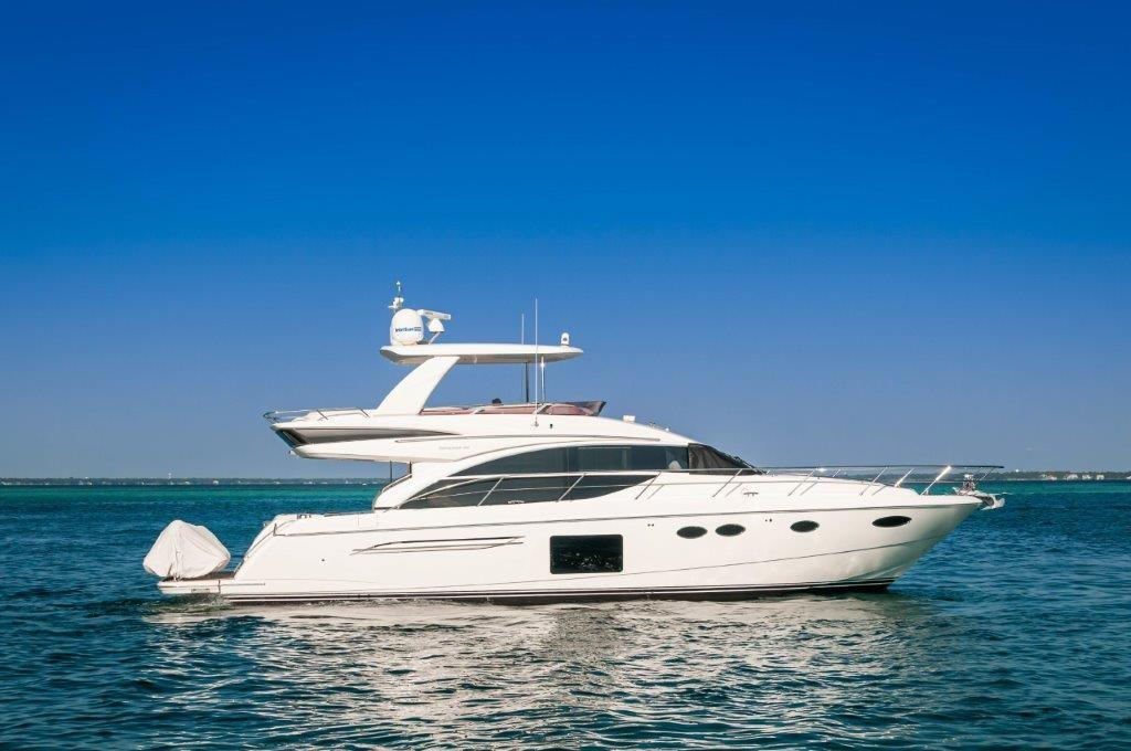 2016 60 Princess Flybridge Profile