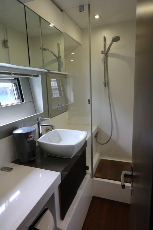 Actual Boat - En Suite to Guest Cabin