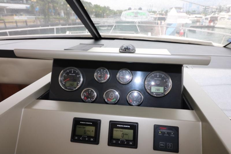Actual Boat - Helm Station