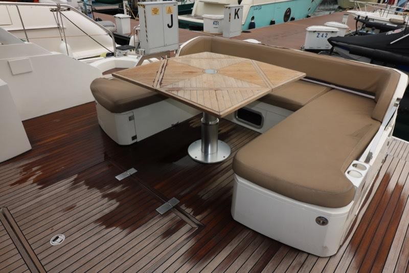 Actual Boat - Cockpit Seating/Lounging