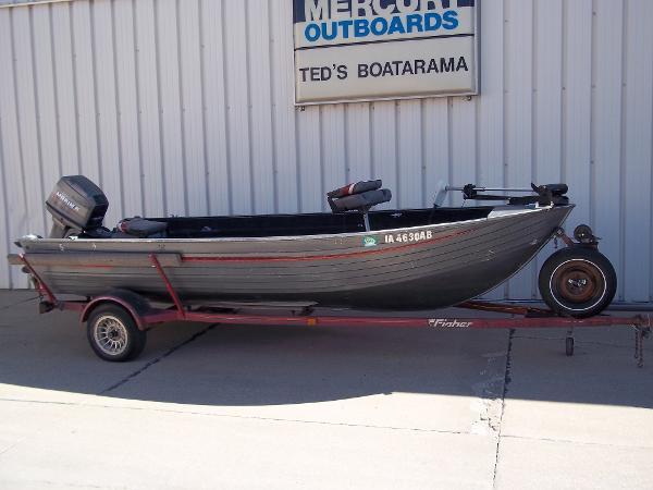 1990 FISHER 16' V TILLER for sale