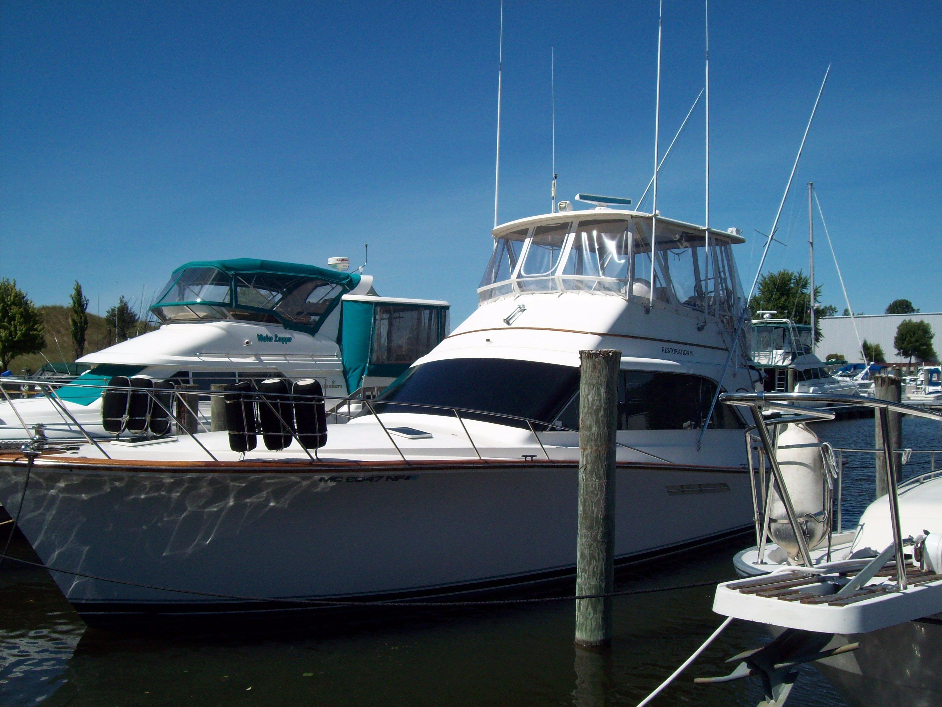 1987 ocean yachts 48 super sport yacht for sale in grand for Ocean yachts 48 motor yacht for sale
