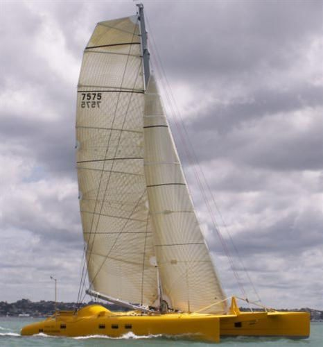 Tim Clissold Catamaran - X Factor