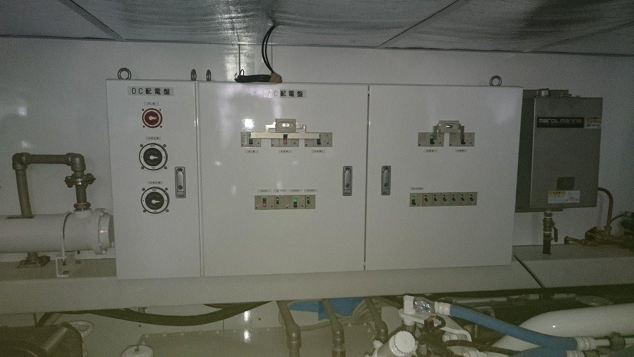 Engine room / AC DC switchboard