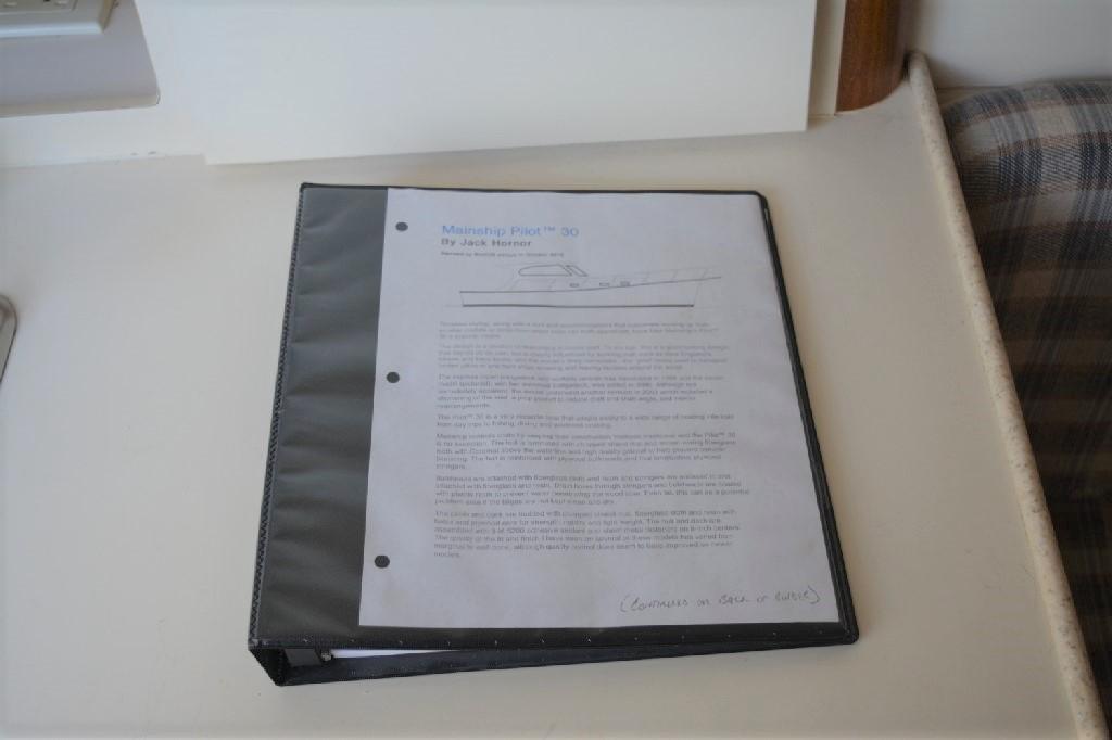 Mainship Pilot 30 - Log Book