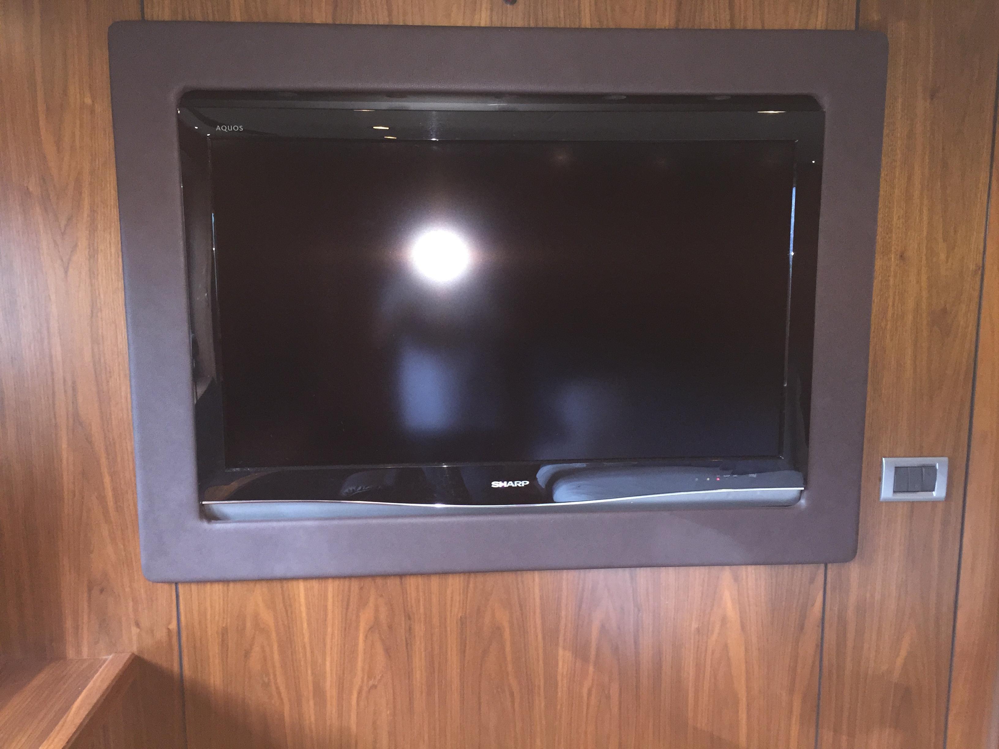 Master cabin tv