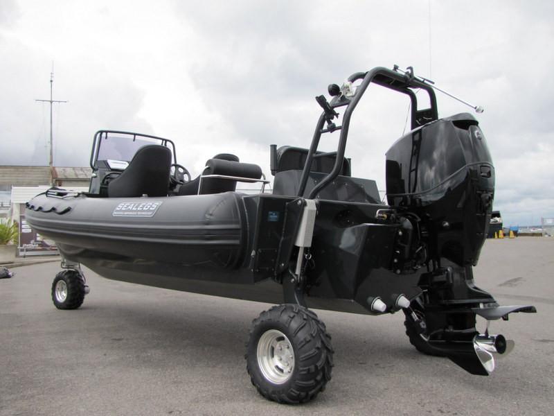 Sealegs 7.7M Console Amphibious Rib