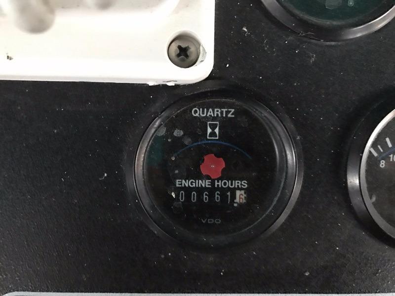 Hour meter port
