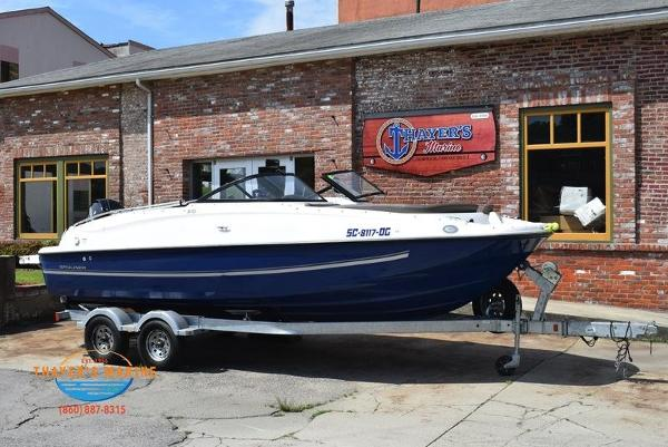 2018 BAYLINER 210 DECK BOAT for sale