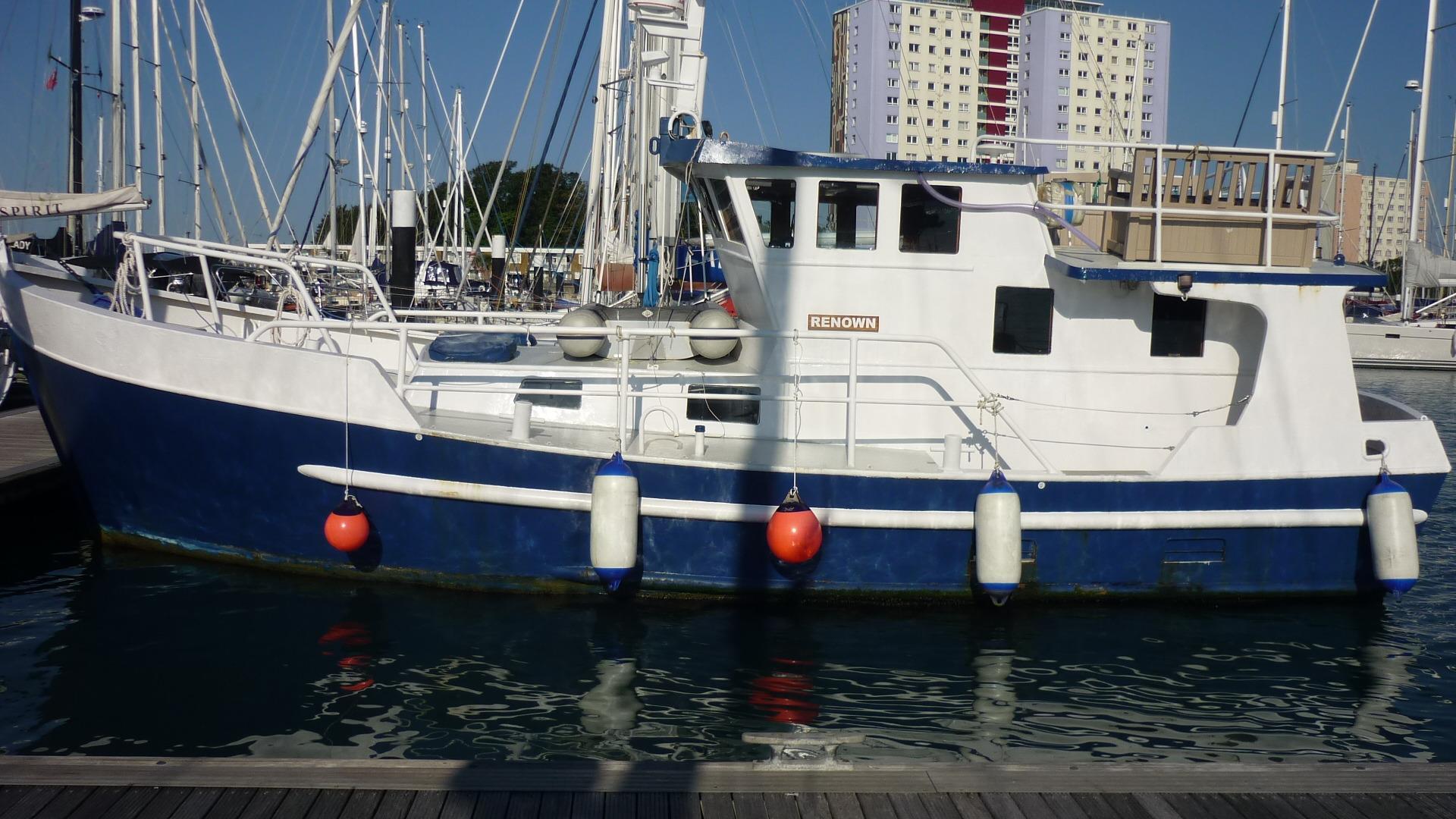 Steel Trawler Yacht