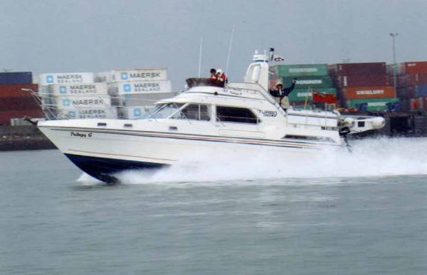 Fairline Turbo 36 boat for sale