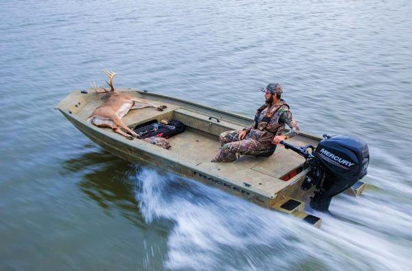 2018 Tracker Boats boat for sale, model of the boat is Grizzly 1654 T Sportsman & Image # 12 of 45