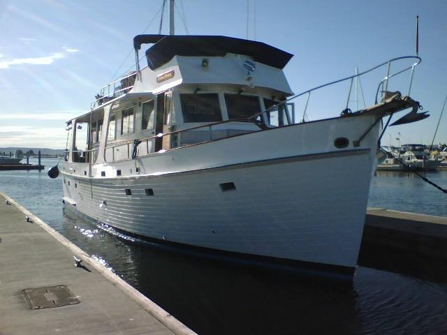 Grand Banks Flush Deck