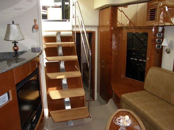 Cabin Entrance Stairs