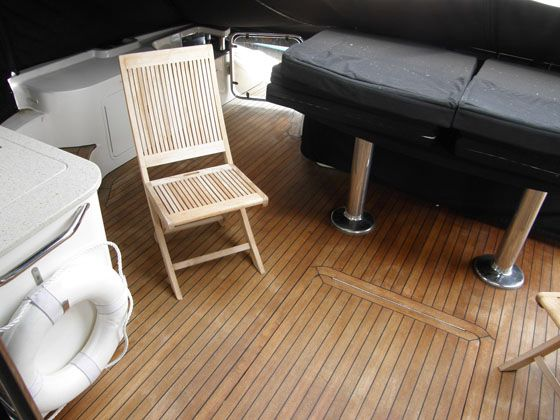Teak Cockpit and chairs