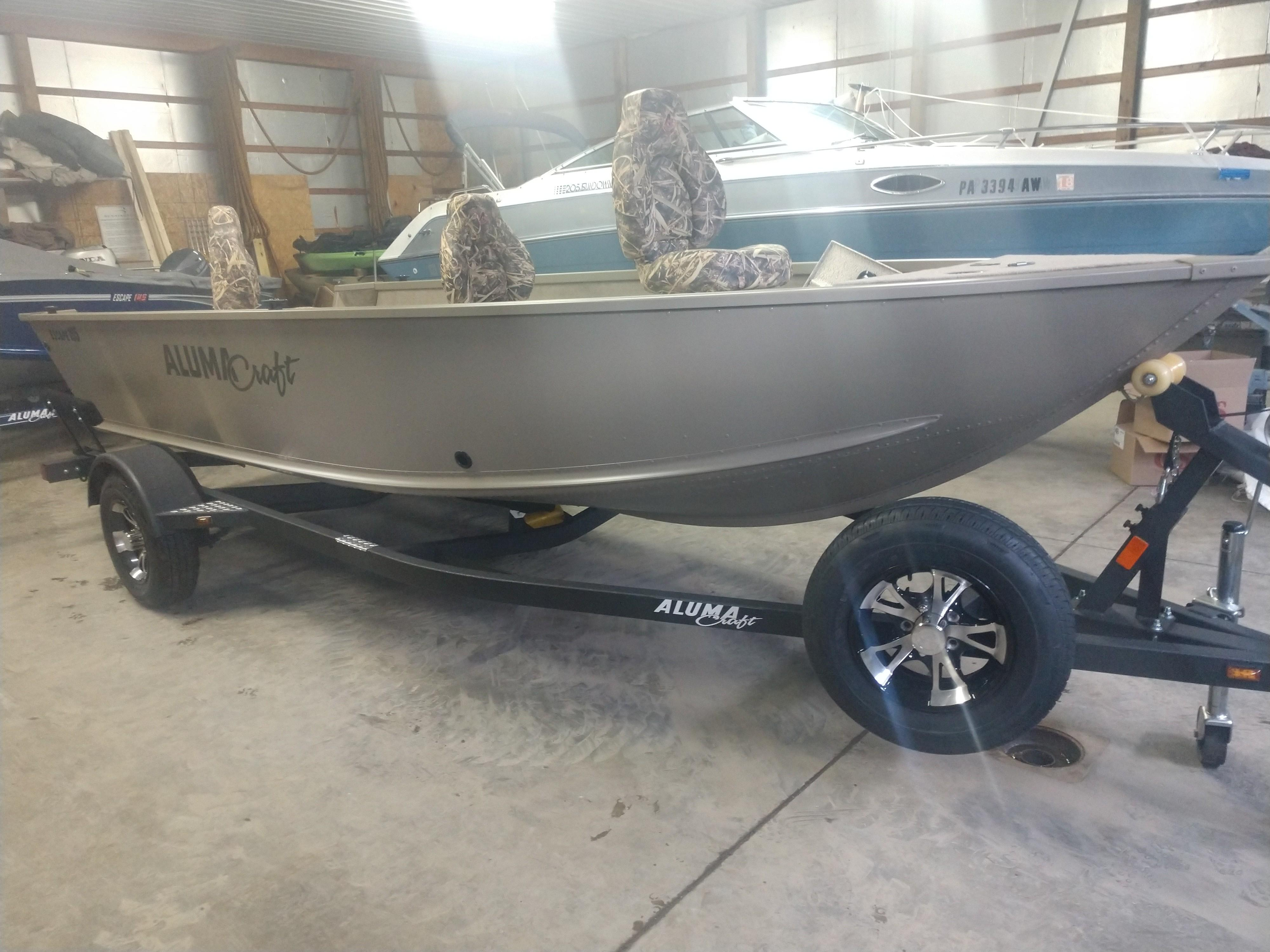 2018 Alumacraft Escape 165 Tiller Conneaut Lake