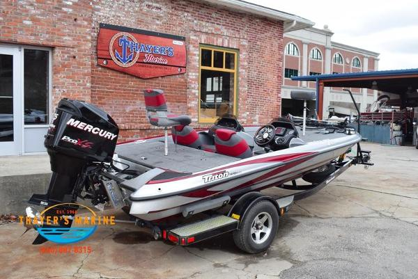 2012 Triton boat for sale, model of the boat is 18XS & Image # 3 of 46