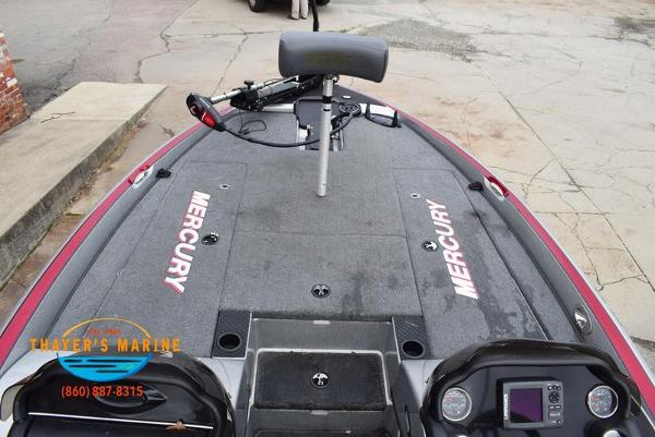 2012 Triton boat for sale, model of the boat is 18XS & Image # 14 of 46