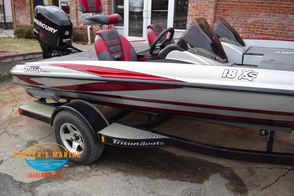 2012 Triton boat for sale, model of the boat is 18XS & Image # 15 of 46