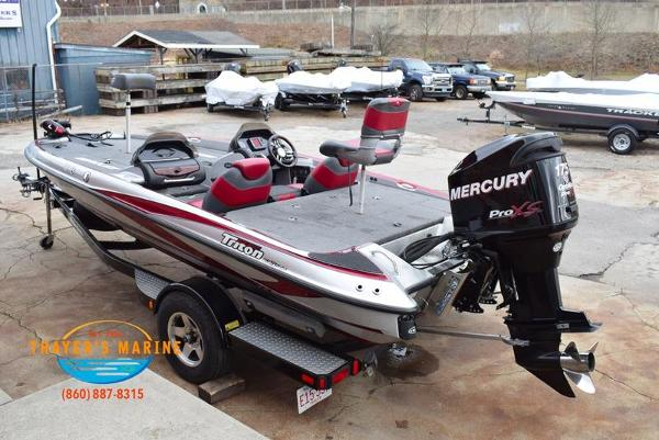2012 Triton boat for sale, model of the boat is 18XS & Image # 38 of 46