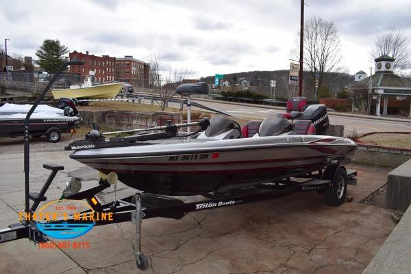 2012 Triton boat for sale, model of the boat is 18XS & Image # 41 of 46