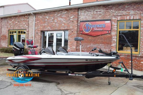 2012 Triton boat for sale, model of the boat is 18XS & Image # 45 of 46