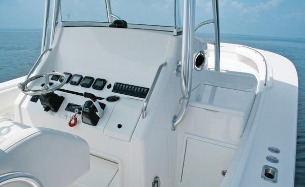 Regulator 34 Starboard Seating