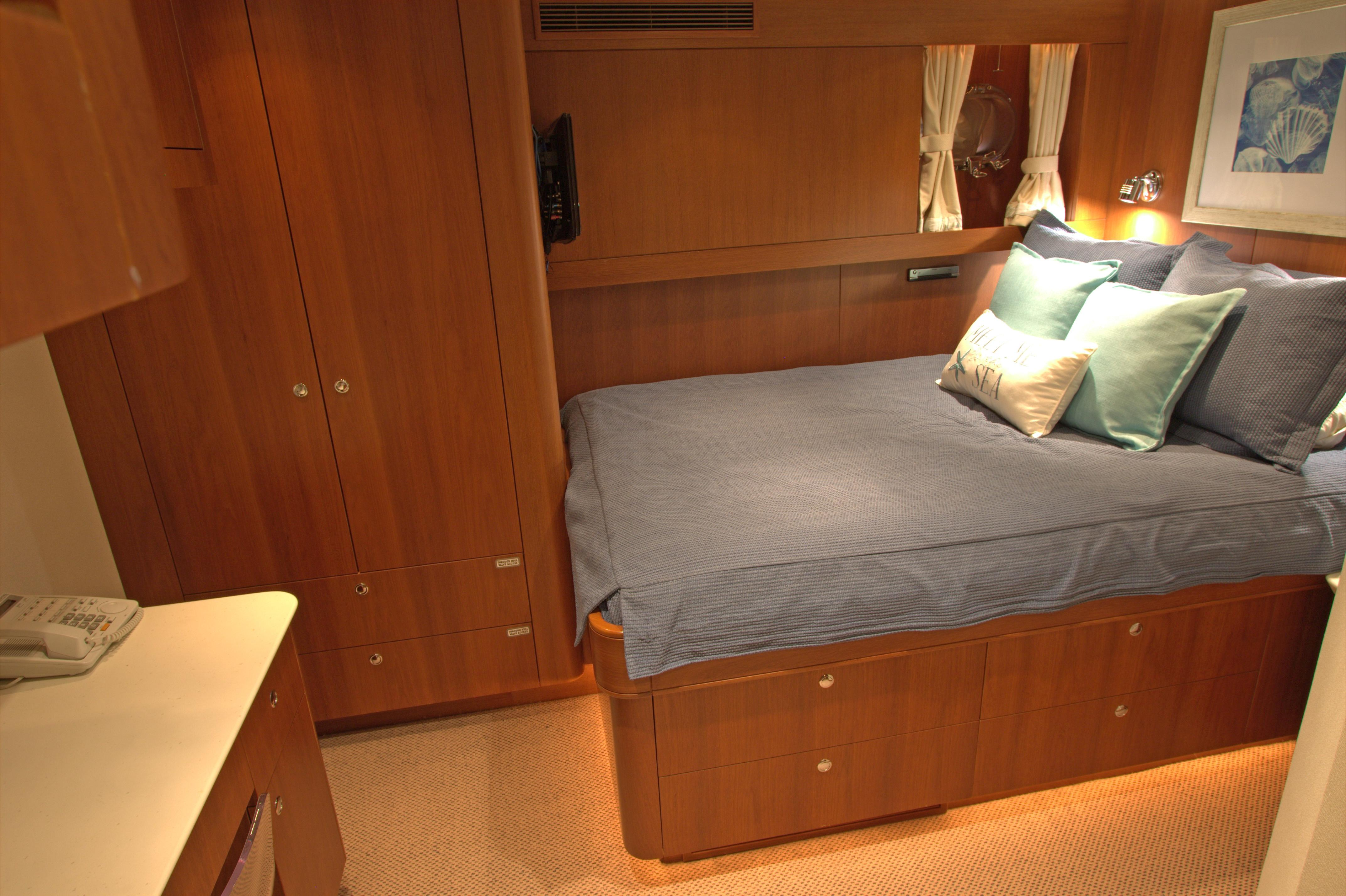 Aft Queen Guest Stateroom