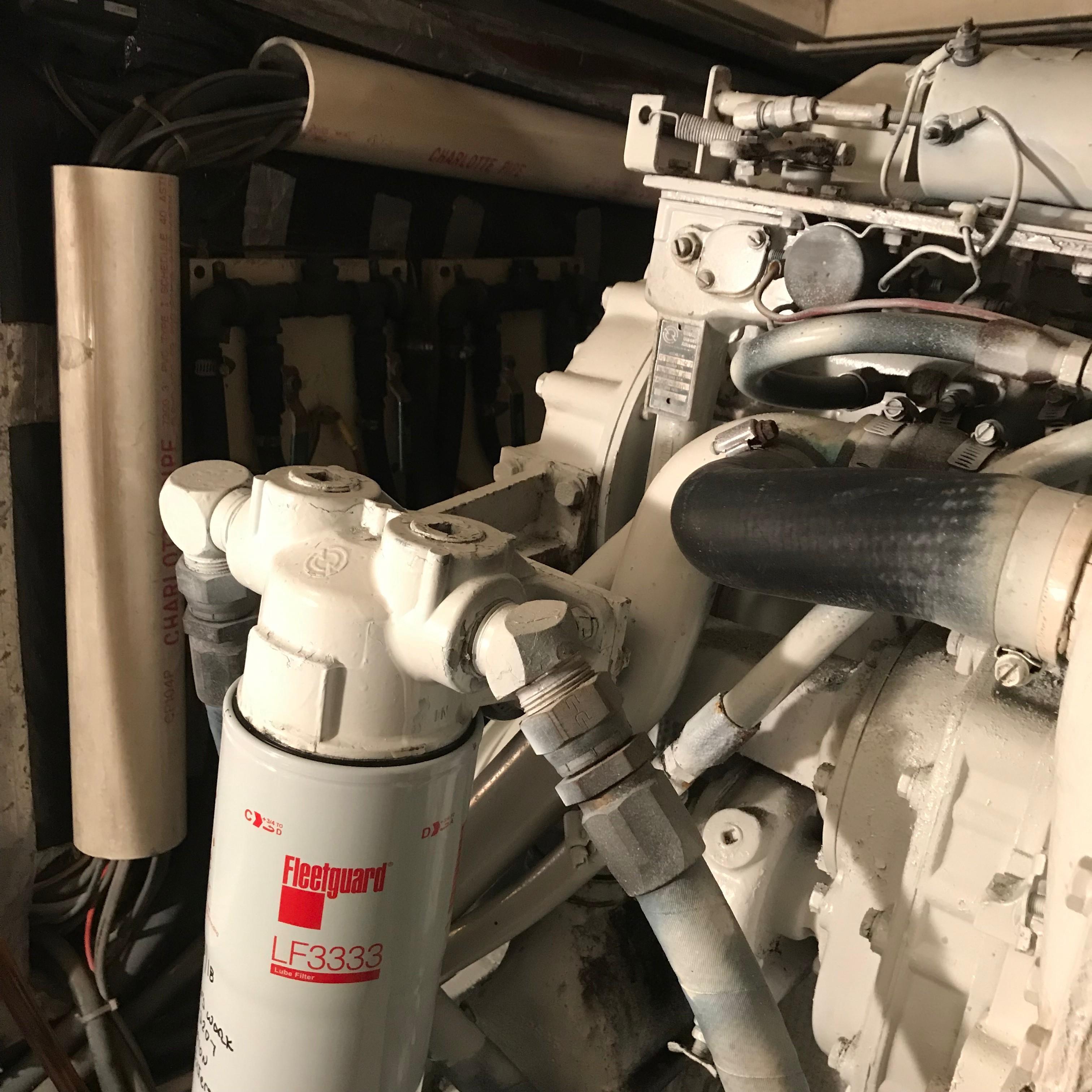 Chris-craft 46 Constellation - Starboard Engine