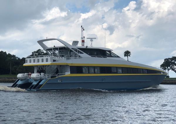 1998 73' Sabre Craft Passenger Fast Ferry