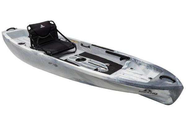 2018 ASCEND 10T SIT ON TOP (WHITE/BLACK) for sale