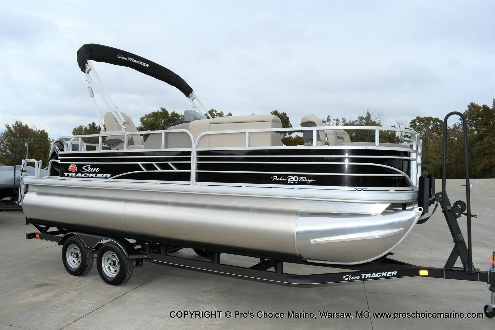 2020 Sun Tracker boat for sale, model of the boat is Fishin' Barge 20 DLX & Image # 26 of 50