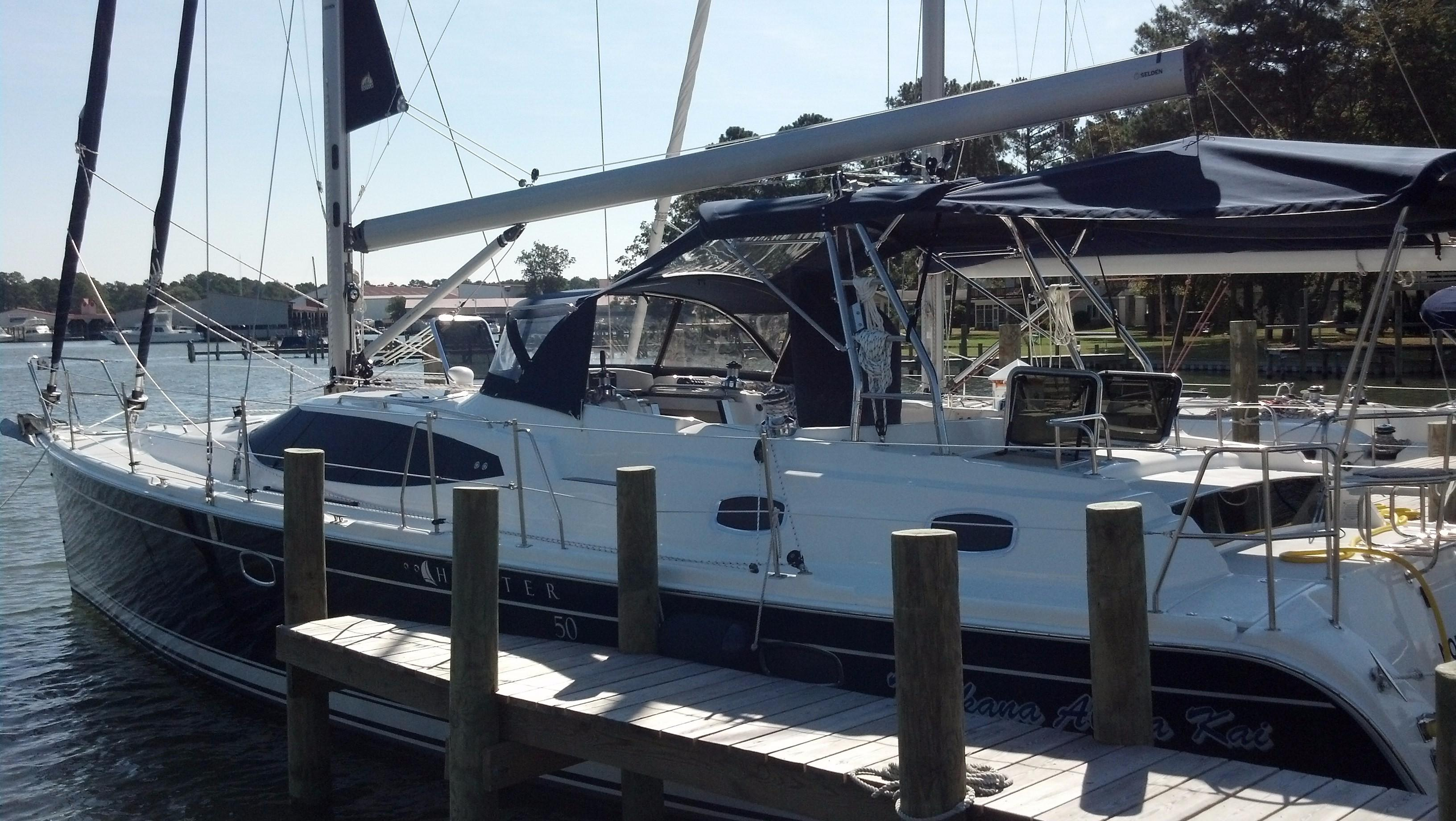 2013 Marlow Hunter 50 Center Cockpit | Sailboats for Sale