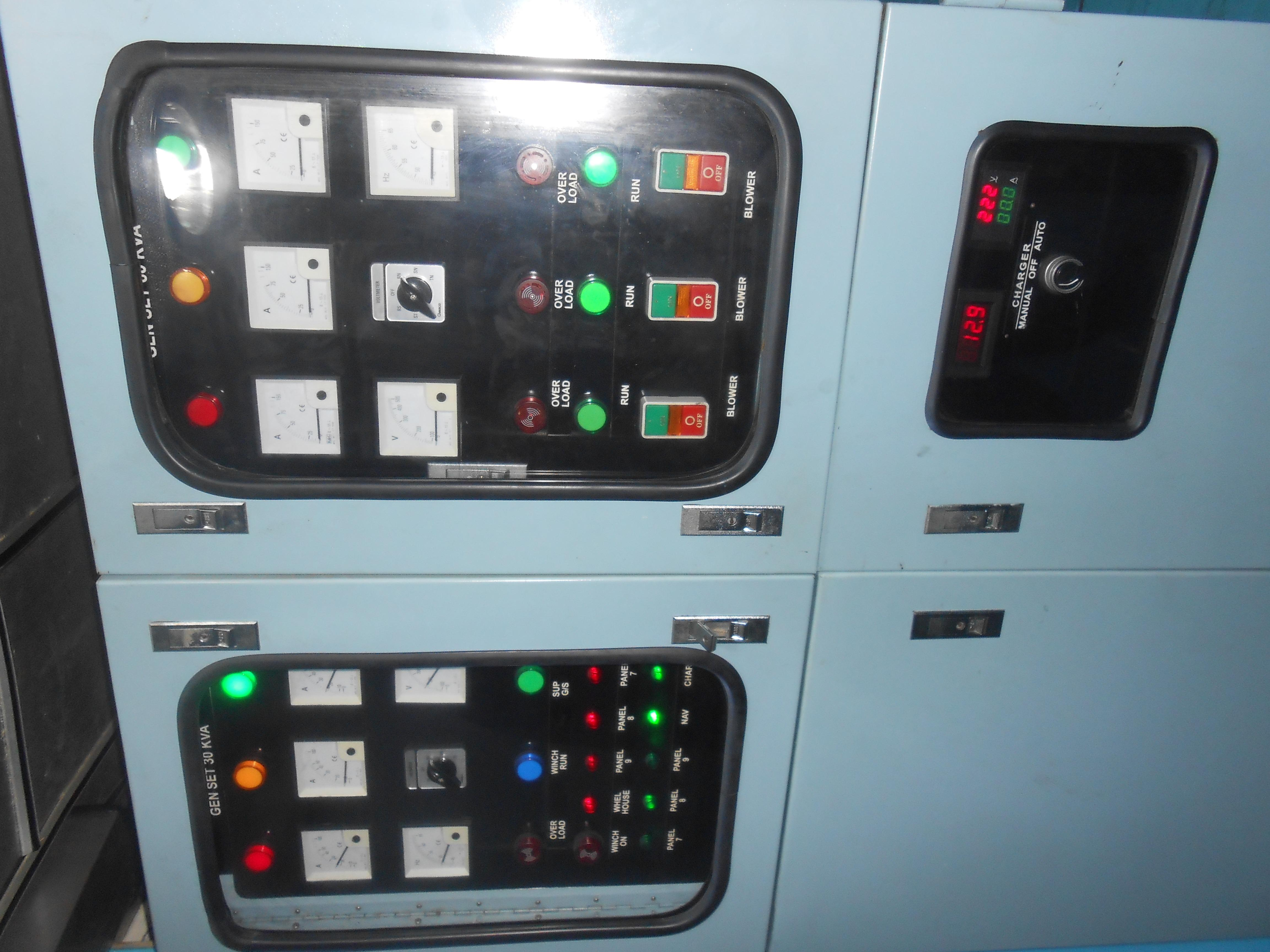 122 ft Bugis Phinisi Control Panel