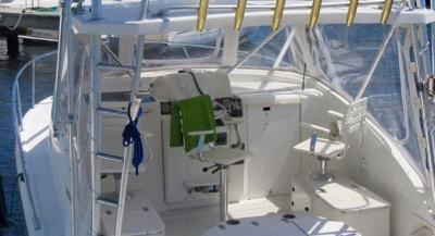 CENTER HELM POD WITH PORT & STARBOARD SEATING