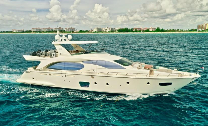 2009 85 Azimut Flybridge - Profile